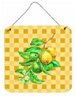 Guavas Branch on Basketweave Wall or Door Hanging Prints