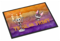 Halloween Trick or Treat Indoor or Outdoor Mat 24x36