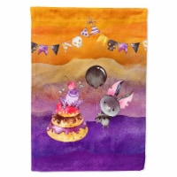 Carolines Treasures  BB7463CHF Halloween Sweets Party Flag Canvas House Size - House Size
