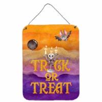 Halloween Trick or Treat Wall or Door Hanging Prints - 16HX12W