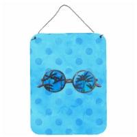 Sunglasses Blue Polkadot Wall or Door Hanging Prints