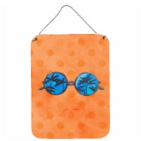 Sunglasses Orange Polkadot Wall or Door Hanging Prints