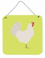 Leghorn Chicken Green Wall or Door Hanging Prints