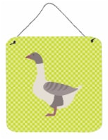 Buff Grey Back Goose Green Wall or Door Hanging Prints