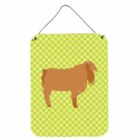 American Lamancha Goat Green Wall or Door Hanging Prints