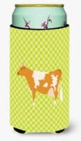 Guernsey Cow  Green Tall Boy Beverage Insulator Hugger - Tall Boy
