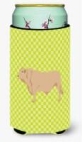 Charolais Cow Green Tall Boy Beverage Insulator Hugger - Tall Boy