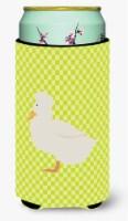 Crested Duck Green Tall Boy Beverage Insulator Hugger - Tall Boy