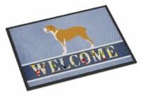 Belgium Mastiff Welcome Indoor or Outdoor Mat 18x27
