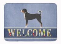 Appenzeller Sennenhund Welcome Machine Washable Memory Foam Mat
