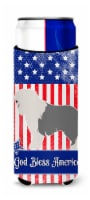Old English Sheepdog American Michelob Ultra Hugger for slim cans
