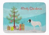 "Gascon Saintongeois Christmas Machine Washable Memory Foam Mat - 19 X 27"""
