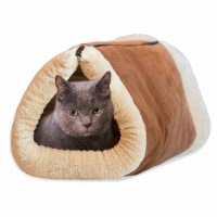 Kitty Shack 2-in-1 Tunnel Bed and Pet Mat - 1