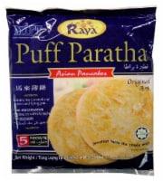 Raya Puff Paratha Asian Pancakes 5 Count