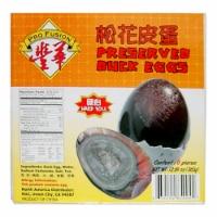 Pro Fusion Hard Yolk Preserved Duck Eggs - 6 ct