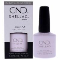 CND Shellac Nail Color  Cream Puff Nail Polish 0.25 oz - 0.25 oz