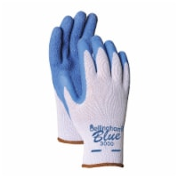 Bellingham® Glove Latex Palm Dip Gloves - Blue - M