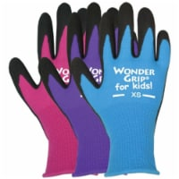 Lfs Glove KWG515ACXS Extra Small Nitrile Wonder Grip Kids Gloves Pack Of 12 - 12