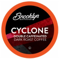 Brooklyn Beans Coffee Pods for Keurig 2.0,  Cyclone Double Caffeinated ,  72 Count
