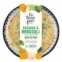 La Terra Fina Cheddar & Broccoli Quiche