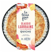 La Terra Fina Classic Lorraine Quiche