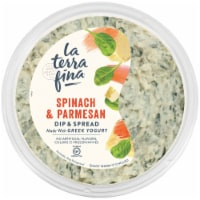 La Terra Fina Greek Yogurt Spinach Parmesan Dip & Spread
