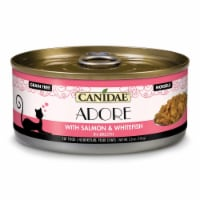 Canidae Pet Foods CD10231 5 oz Adore Cat Food Can - Salmon & White Fish, Case of 24 - 1