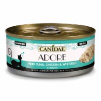 Canidae Pet Foods CD10247 5 oz Adore Cat Food Can - Tuna, Chicken & WhiteFish - Case of 24 - 1