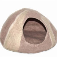 Global Groove GLG24000-02 Purrfect Cat Cave - Sand & Tans