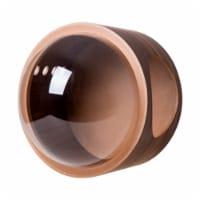 MYZOO Spaceship Gamma Modern Wood Cat Bed Wall Mounted Open Right Shelf, Walnut - 1 Piece