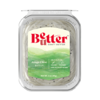 Chef Shamy Fresh Churned Asiago & Chive Gourmet Butter - 3 oz
