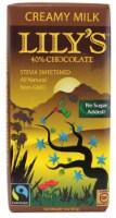 Lily's Creamy Milk Chocolate Bar with Stevia -- 3 oz - 2 pc - 2 Bars/ 3 Ounce
