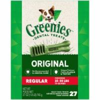 Greenies™ Original Regular Dog Dental Treats - 27 ct