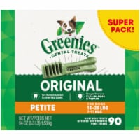 Greenies Original Petite Dog Dental Treats 45 Count