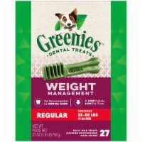 Greenies Weight Management Regular Size Dog Dental Treats