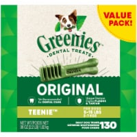 Greenies Original Teenie Dog Dental Treats Value Pack