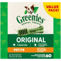 Greenies Original Petite Dog Dental Treats Value Pack