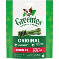 Greenies Original Regular Size Dog Dental Treats 6 Count