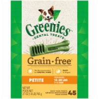 Greenies Grain Free Petite Size Dog Dental Treats 45 Count