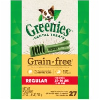 Greenies Grain Free Regular Dog Dental Treats