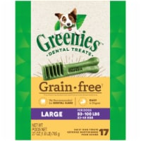 Greenies Grain Free Large Dog Dental Treats