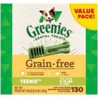 Greenies Grain Free Teenie Dog Dental Treats Value Pack