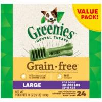Greenies Grain Free Large Dental Treats Value Pack