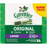 Greenies Original Large Dental Dog Treats Super Pack