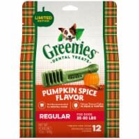 Greenies Pumpkin Spice Flavored Dental Dog Treats