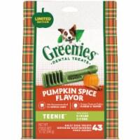 Greenies Teenie Pumpkin Spice Flavored Dental Dog Treats
