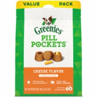 Greenies Pill Pockets Cheese Flavor Dog Treats