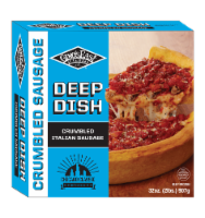 Gino's East of Chicago Deep Dish Sausage Pizza