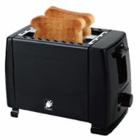 J-Jati TS007 900W 2 Slice Toaster Wide Slot Compact Toaster with Defrost, Bagel & Cancel