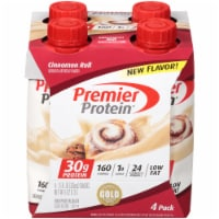 Premier Protein® Cinnamon Roll Protein Shakes - 4 ct / 11 fl oz